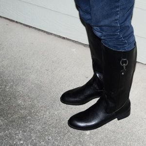 Black Life Stride Riding Boots US 11
